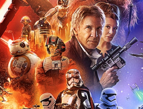 Poster oficial de Star Wars: The Force Awakens