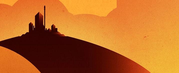 Posters Turísticos de Star Wars